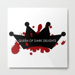 Queen of Darkness Metal Print