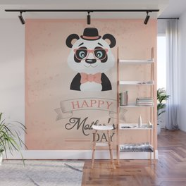 Happy Mother's Day ~ Panda Wall Mural