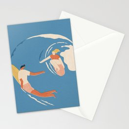 Wave lovers Stationery Cards