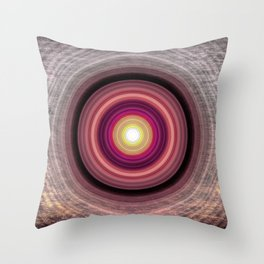Touch of Madness Throw Pillow