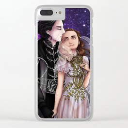 Hades and Persephone Clear iPhone Case