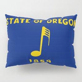 Musical Oregon State Flag Pillow Sham