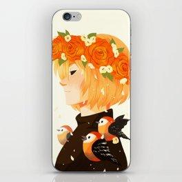 Bloom: Yurio iPhone Skin