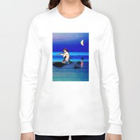 pisces Long Sleeve T-shirts featuring Pisces by Danielle Tanimura