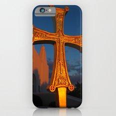 Cross Outside of St. Barbara Greek Orthodox Church, Santa Barbara, CA iPhone 6 Slim Case