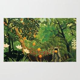 "Henri Rousseau ""Exotic landscape"", 1910 Rug"