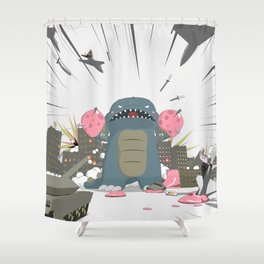 Godzelato! - Series 3: Eat this! Shower Curtain