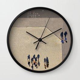 Lisbonne à l'envers Wall Clock
