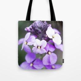 Dame's Rocket Flowering Tote Bag