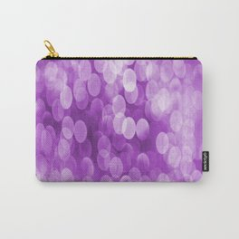 Bokeh Light In Violet #decor #society6 #homedecor Carry-All Pouch
