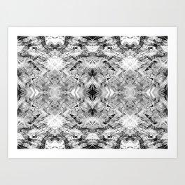 Black & White Art Art Print