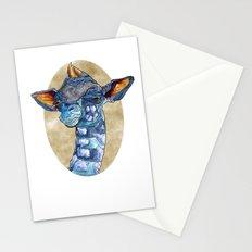 Zen Giraffe - Watercolour Stationery Cards