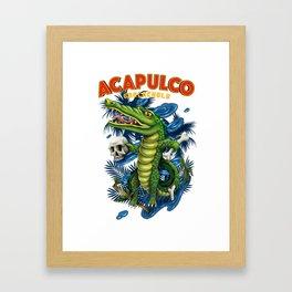 Acapulco Framed Art Print