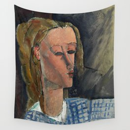 "Amedeo Modigliani ""Beatrice Hastings"", 1916 Wall Tapestry"