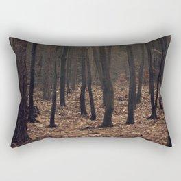 Winter magic forest Rectangular Pillow