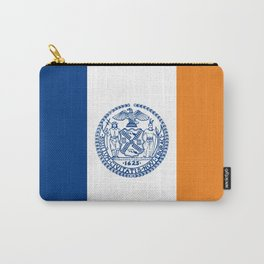 new york city flag united states of america Carry-All Pouch