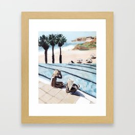 Hot Gossip Framed Art Print