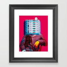 Der Wohnungswirt Framed Art Print