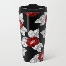 Flower 11 Metal Travel Mug