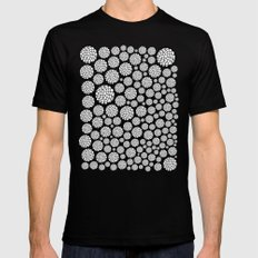 Blooming Trees MEDIUM Mens Fitted Tee Black
