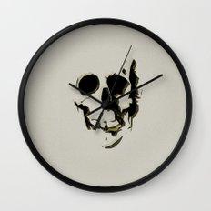 skull #06 Wall Clock