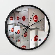 Lockers Wall Clock