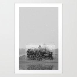 Marina 1/2 Art Print