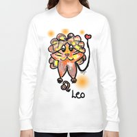 leo Long Sleeve T-shirts featuring leo by sladja