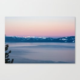 View of Lake Tahoe from Incline Village. Nevada. USA. Canvas Print