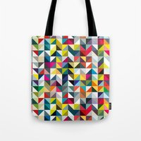 book cover Tote Bags featuring 100 book cover colours by Coralie Bickford-Smith