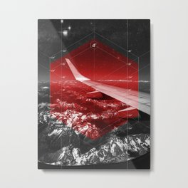 Cubed Area Metal Print