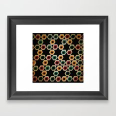 pentagons Framed Art Print