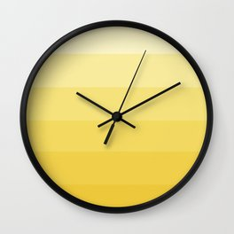 Lemondrop Ombre Wall Clock