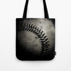 Baseball Dark Tote Bag