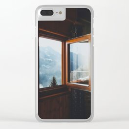 Dolomite Cabin Clear iPhone Case