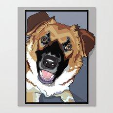 Trina Dog Canvas Print