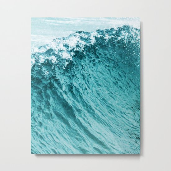 Ocean || #society6 #decor #buyart Metal Print