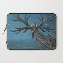 An Island Appeared Laptop Sleeve