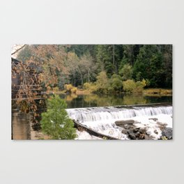 Glassy with a Break Canvas Print