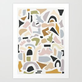 Shapes 6 Art Print