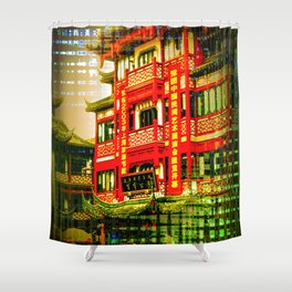 Asia World Shower Curtain