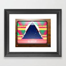 Kaleidoscope TV version C Framed Art Print