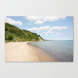 AFE Bluffer's Beach Canvas Print