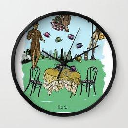 Tea Time ( fig.2 ) Wall Clock