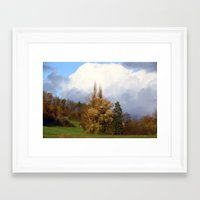 german Framed Art Prints featuring German Landscape  by LoRo  Art & Pictures
