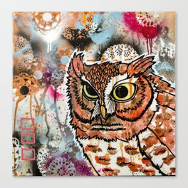 Owl Friend Canvas Print