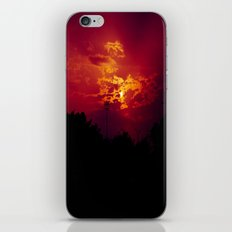 """With each sunrise, we start anew"" iPhone & iPod Skin"