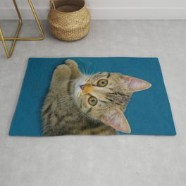 Hello Cutie  -  Baby cat Rug