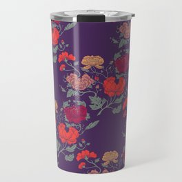 Recolour Peonies Travel Mug