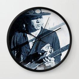 Ray Vaughan Wall Clock